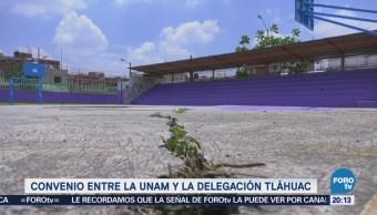 Tláhuac y UNAM realizan convenio para solucionar grietas tras sismo