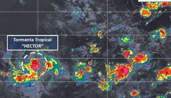 Se forma tormenta tropical 'Héctor' frente a costa de México