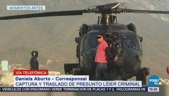 Trasladan a Luis Alberto Blanco Flores 'El Pelochas' a Tamaulipas