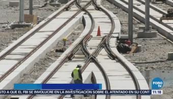 Tren Interurbano México Toluca Avance CDMX