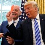 Trump ataca a la prensa y le saca la tarjeta roja