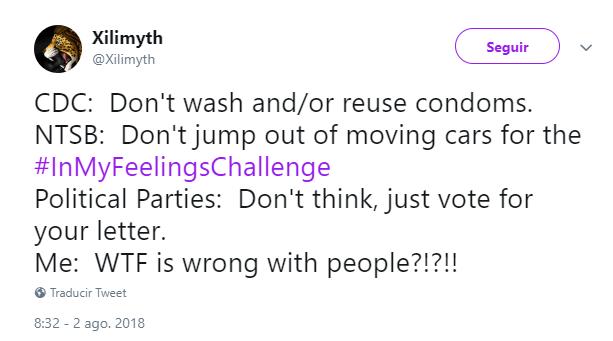 El condón solo se usa una vez, no se debe lavar