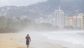Tormenta tropical Ileana se localiza frente a Guerrero