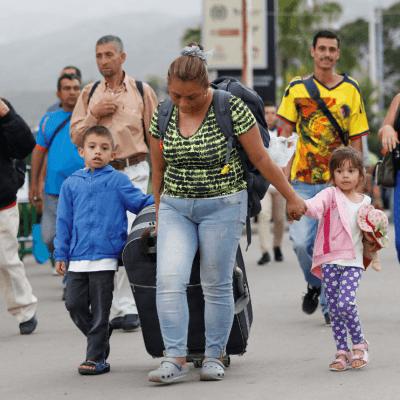 La migración de venezolanos remece a Sudamérica