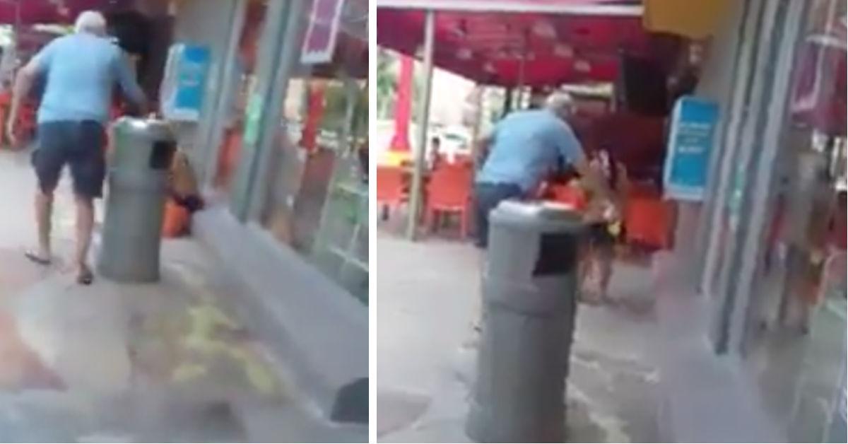 video-hombre-tira-acido-indigena-oxxo-quintana-roo