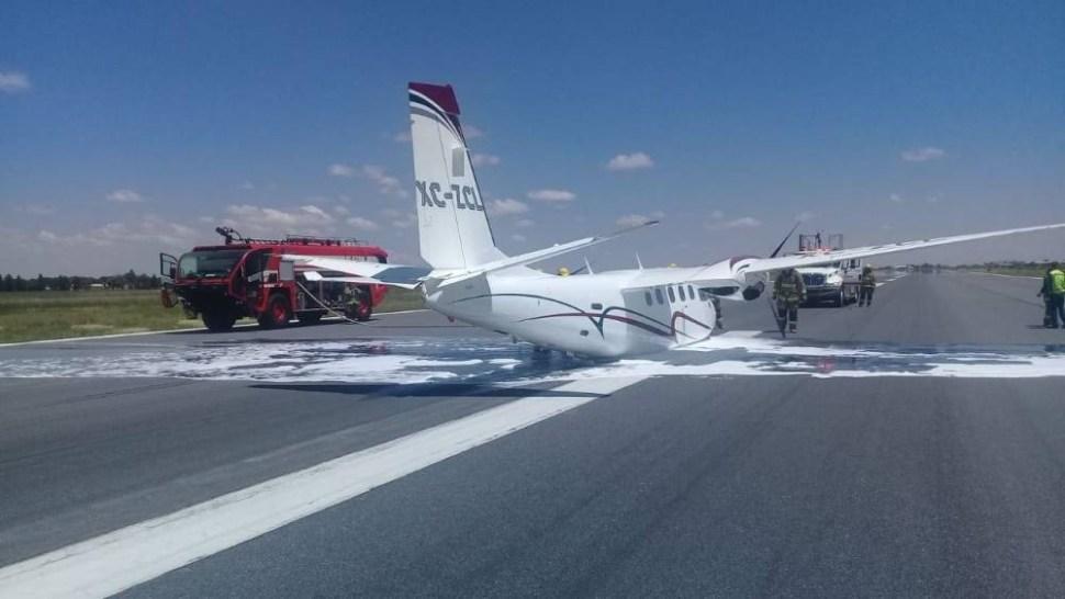 failed plane woman governor zacatecas alejandro