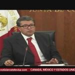 Juan Carlos Baker entrega al Senado de la República texto final del TLCAN
