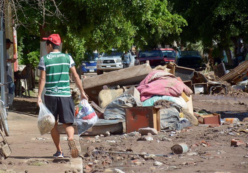 Suman169 mil damnificados por las lluvias en Sonora