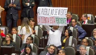 legisladores posicionamiento ultimo año enrique peña