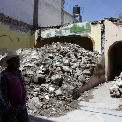 A un año del sismo 19S, continúa devastación en Atlixco, Puebla y Ocuilan, Edomex