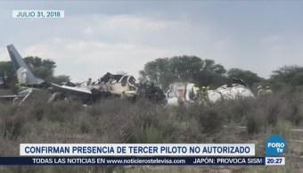 Accidente aéreo en Durango se se debió a causas meteorológicas