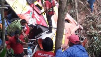 Accidente de bus en Ecuador deja 12 muertos y 23 heridos