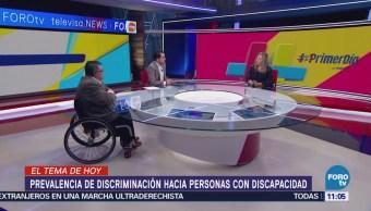 Agenda Discapacidad: Prevalencia de discriminación hacia personas con discapacidad