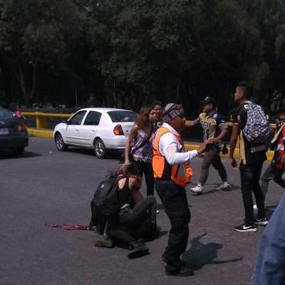 Agresores de estudiantes del CCH Azcapotzalco venían del Edomex