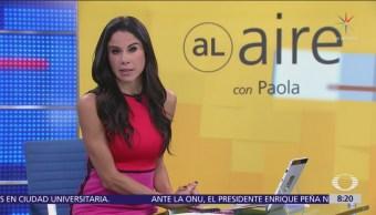 Al Aire, con Paola Rojas Programa del 26 de septiembre