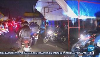 Cinco Detenidos En Operativo Tepito CDMX