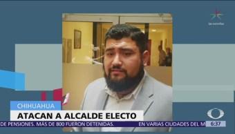 Alcalde electo de Gómez Farías fue atacado a disparos
