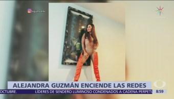 Alejandra guzmán enciende las redes