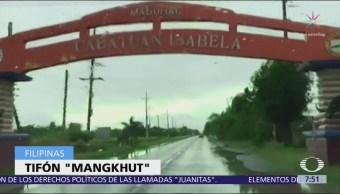 Alerta en Filipinas por el tifón Mangkhut