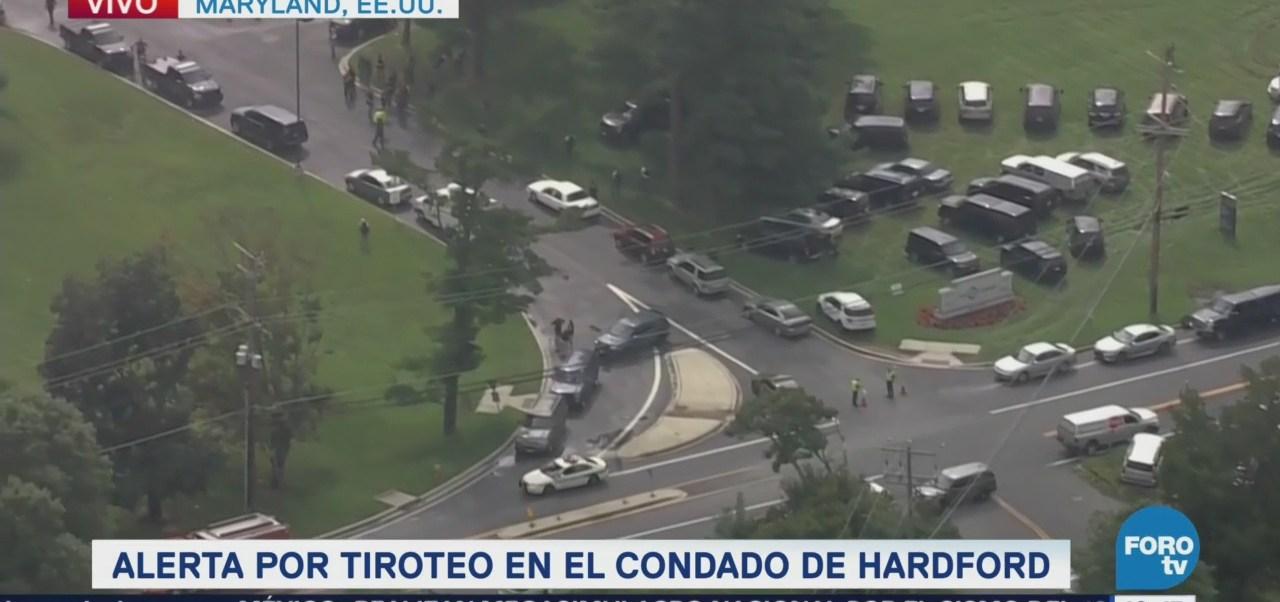 Alerta por tiroteo en el condado de Hardford