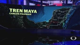 AMLO presenta a gobernadores el proyecto 'Tren Maya'