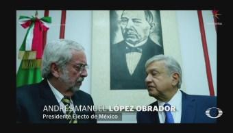 AMLO se reúne con Enrique Graue