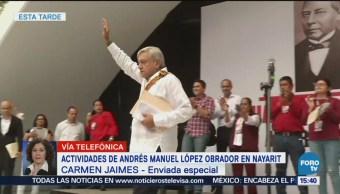 AMLO Sostiene Actividades Nayarit López Obrador