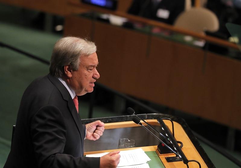 Guterres advierte a líderes mundiales del auge de populismo