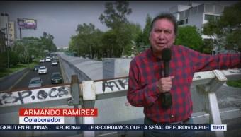Armando Ramírez recorre la colonia Algarín de la CDMX