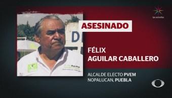 Asesinan a Félix Aguilar Caballero, alcalde electo Nopalucan