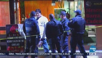 Asesinan Mujer Durante Asalto Bar Cdmx Coyoacán