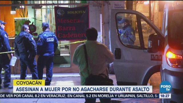 Asesinan Una Mujer Bar Coyoacán CDMX
