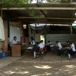 Niños esperan reconstrucción de escuelas tras sismo 7S