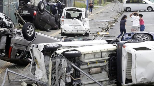 Tifón 'Jebi' causa al menos seis muertos en Japón