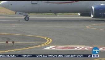 Aviones AICM Fueron Retenidos Durante Sismo CDMX