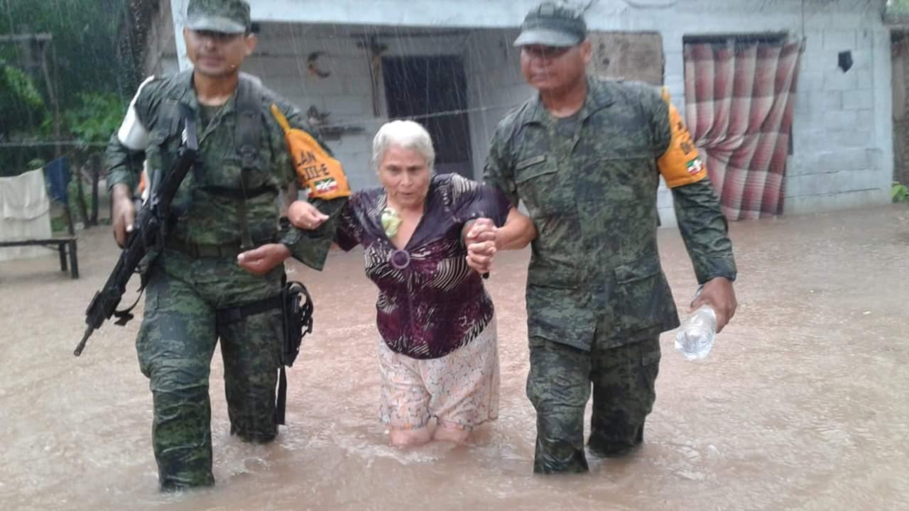 Clima Sinaloa hoy; solicitan declaratoria desastre lluvias