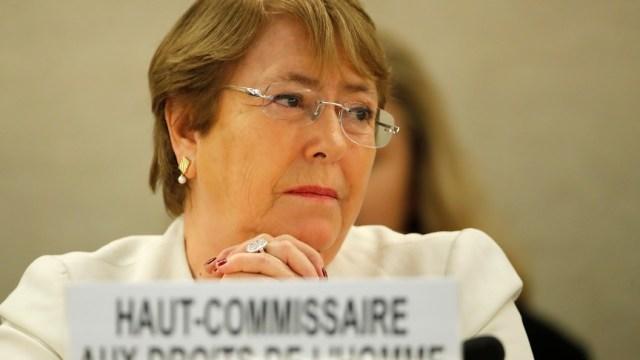 Bachelet pide protección para activistas latinoamericanos