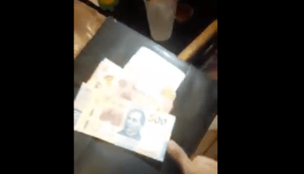 Propina Meseros 500 20 Billete Video