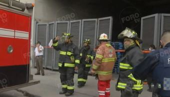 Se reaviva incendio en Centro Comercial en Iztapalapa