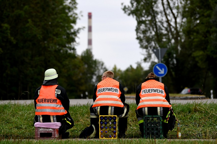 Miles de evacuados por explosión en Alemania