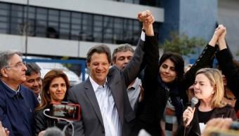 Fernando Haddad sustituye a Lula como candidato presidencial