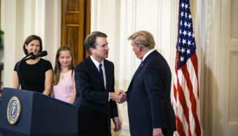 Kavanaugh: mujer podría testificar contra nominado de Trump