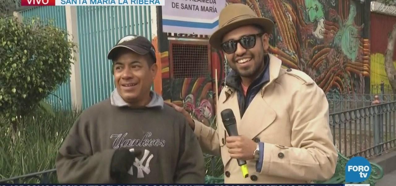 Bryan Mendoza, en vivo desde Santa María la Ribera