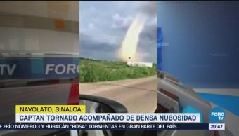 Captan Tornado Sinaloa Nubosidad Navolato Fenómenos Naturales