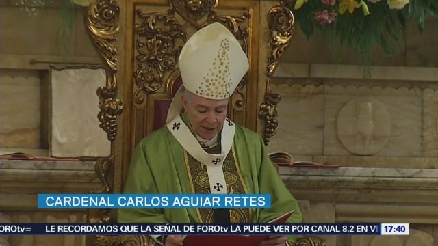 Cardenal expresa apoyo a Papa Francisco
