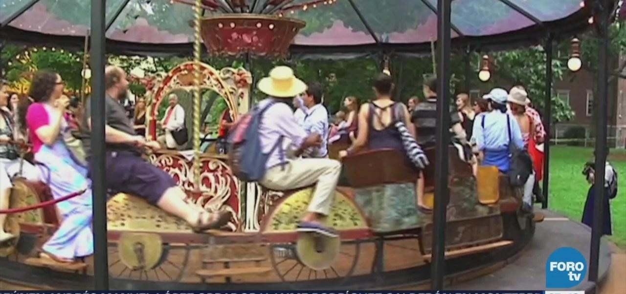Carruseles, tradición en Nueva York