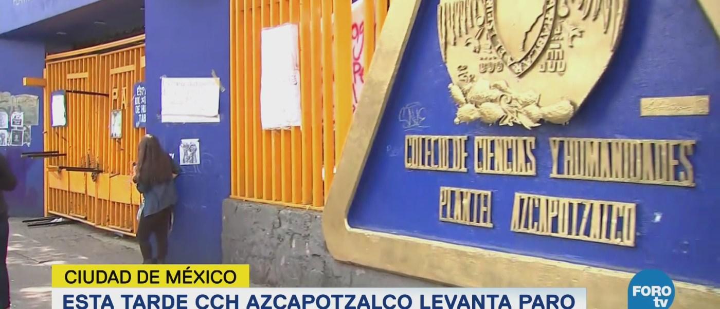 CCH Azcapotzalco levanta paro este martes