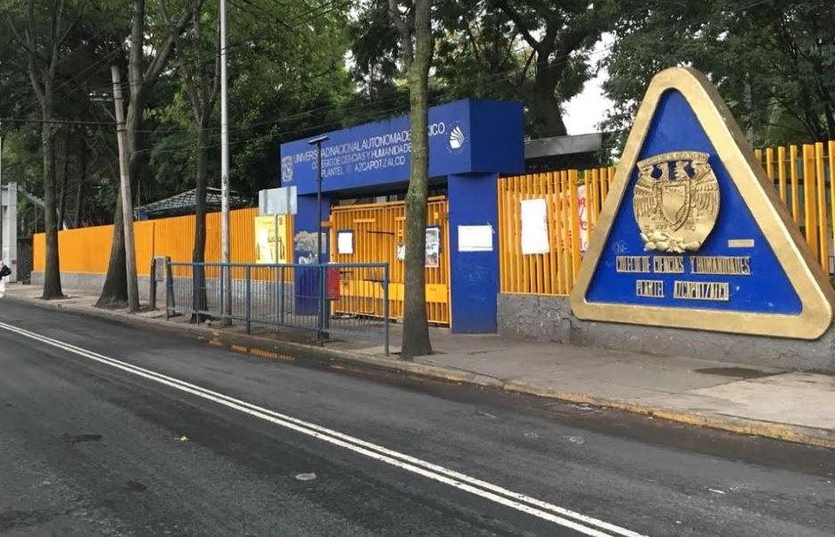 Resguardan instalaciones del CCH Azcapotzalco