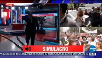 CDMX Realiza Simulacro Conmemorativo Sismos 19S