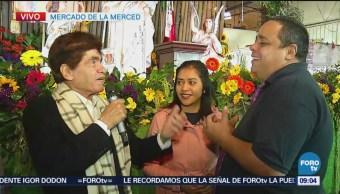 Celebran a la Señora de La Merced en CDMX